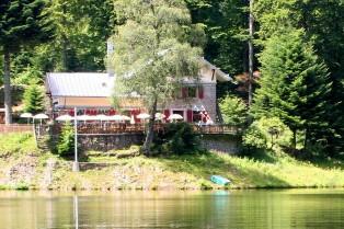 """Das Restaurant """"Auberge Refuge duNeuweiher"""""""