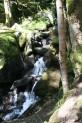 Der Weg ist so steil, dass der Bach zu einem Wasserfall wird!
