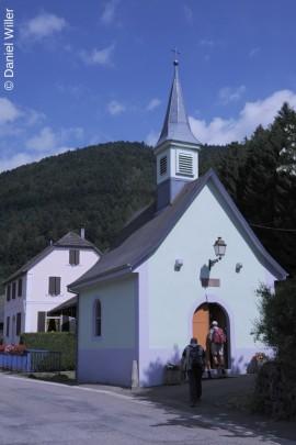 Wunderschön restaurierte Dorfkapelle aus dem Jahre 1840.