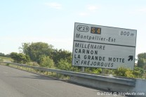 """Und noch schnell an den Strand """"La Grande-Motte"""""""