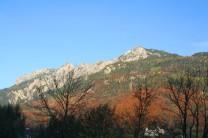 Bergkamm Richtung Liechtenstein
