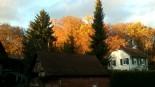 In wunderbarem Herbstlicht - unser Lilienhäuschen!