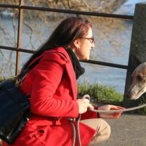 Wir grüßen Euch mit aktuellen Bildern aus Basel vom 18. Januar 2017 am Rhein: My Sweetheart ♥ and me.