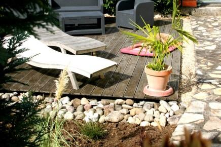 Sonnenbad auf dem Bootssteg!