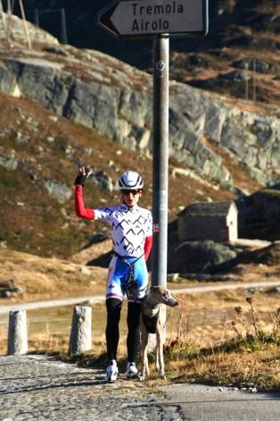 uphillCycling Gotthard Tremola - Passhöhe