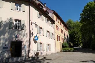 Ehemalige Klosteranlage in Lucelle