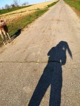 Nous deux à l'ombre